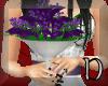 wedding flowers (purple)