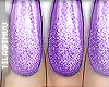 x holographic . purple