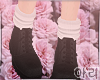 ⓐ Black Boots+Socks