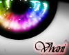 V; Vibrant Rainbow Eyes
