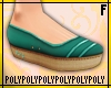 Slip On Shoes [teal]