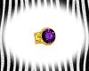 Amethyst Mens Ring