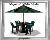 Tropical Patio Table