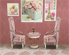 Pink Tea Table