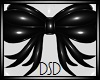 {DSD} Black Bow Sticker