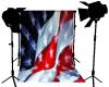 American Flag Photo drop