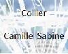 Collier camille sabine