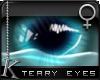 K  Teary Eyes: Teal