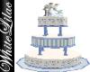 WL~BabyBlue WeddingCake