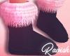 Xmas Licks Fur Boots