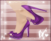 G|Purple Bow heels