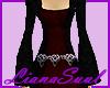 Burgundy Celtic Dress