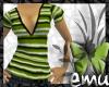 [E] Green Stripe Tee