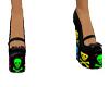 [xy] baby skulls shoes