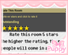 [Pup] Rate This Room
