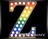 H. Rainbow Letter Z