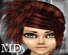 *MD*Brownred hairstyle
