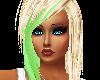 BLONDE GREEN HAIR