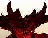 Red Devil Head Horns
