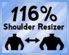 Shoulder Scaler 116%