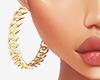 ʟ. luxury chain hoops