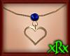 Heart Necklace September