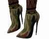 E* Military boots