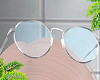 d. up glasses blue