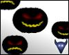 Dancing monster heads