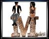 Leopard Letter M