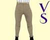 Light Khaki Jeans & Belt