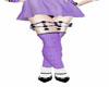 Layer Lilac Stocking *K