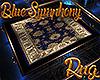 [M] Blue Symphony Rug