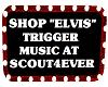 Shop Sign ELVIS music