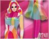 24: Pink Polka Hijab