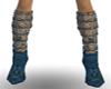 Ocean Blue Boots