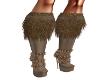 Bronze & Choco Boots