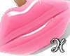Lips Clutch Pink
