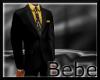 Full Suit Gold Black