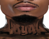 Loyal Asteri Neck Tatt