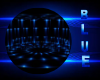 Blue dome DJ light