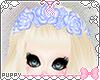 [Pup]Blue Rose Headdress