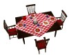 CHILI/ROLLS DINING TABLE