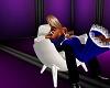 MIK White Kissing Chair