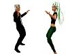 8ppl Line Dance, 2 rows