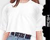 ! f' COL T-Shirt Crop