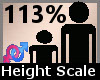Scaler Height 113% F A