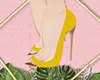 G̷. Basic Yellow Shoes