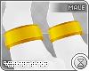 . paw cuffs | yellow