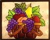Quadro frutas cozinha